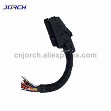 Free shipping 1 set EDC7 Common Rail 89 Pins ECU Connector Auto PC Board Socket With Wiring Harness For Bosch