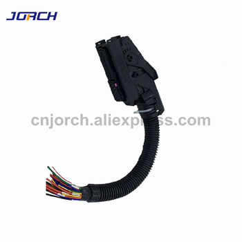 Free shipping 1 set EDC7 Common Rail 89 Pins ECU Connector Auto PC Board Socket With Wiring Harness For Bosch - DISCOUNT ITEM  0% OFF All Category