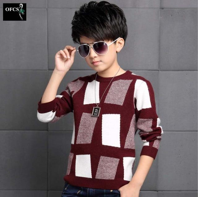 Fashion Boys Sweater 2016 Winter Autumn Infant Boy Outwear Sweater Cotton Kids Sweater Children Outerwear Knitwear Sweater Brand