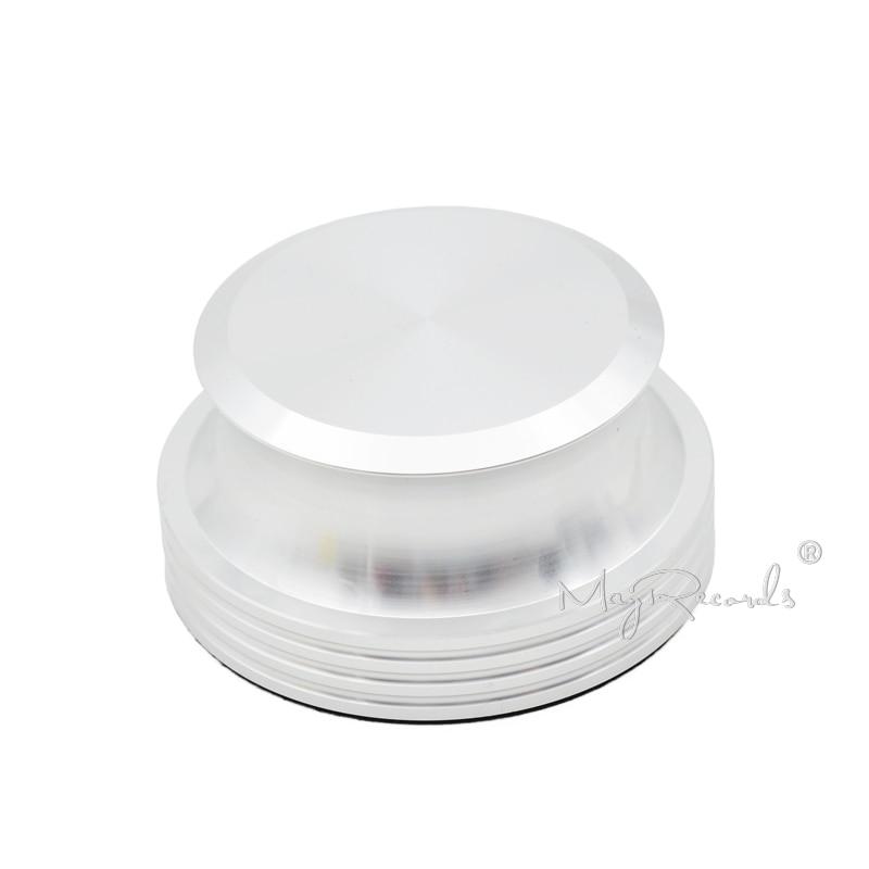 Disques tournants stabilisateur de poids LP vinyle argent pince/emballage de luxe