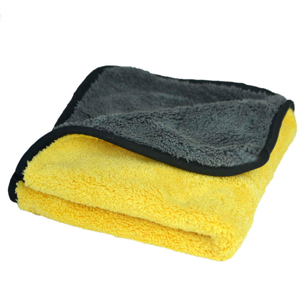 Big Car Care Towel Wax Polishing Drying Plush Microfiber Cleaning Super Thick Household Supplies & Cleaning