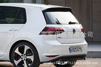 Fit for Volkswagen Golf 7 rline GTI ABS rear spoiler rear wing with customize DIY color spoiler No paint spoiler