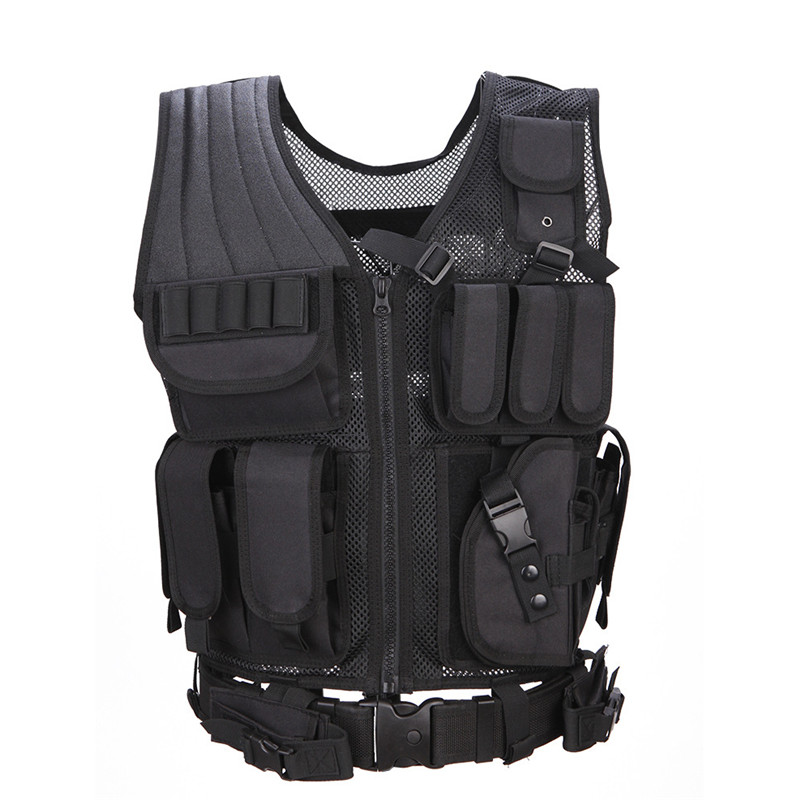 625adccb5e5b8 Best Deals 600D Nylon Military Tactical Vest War Games Sportswear Hunting  Vests CS for Outdoor Activities Hunting Adjustable-in Hunting Vests from  Sports ...