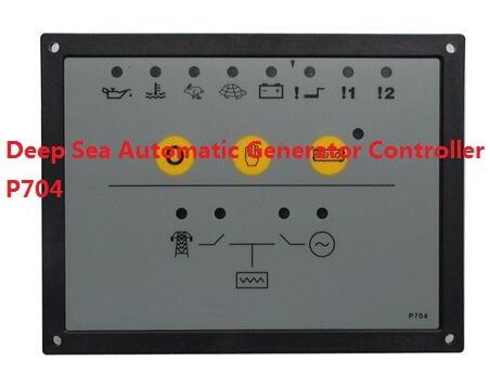 Deep Sea Automatic Generator Controller 704+free shipping free shipping deep sea generator set controller module p5110 generator control panel replace dse5110