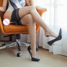f5bf68a2f5461 5Pcs/Lot Classic Retro Back Seam Reinforced Heel Toe RHT 88% Nylon Stretchy  Sexy