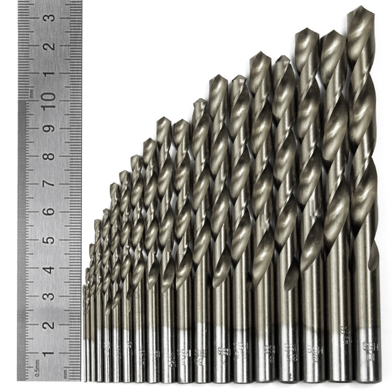 Image 4 - 51pc Engineering Hss Drill Bit Set Hss 1   6mm in 0.1mm Increments-in Drill Bits from Tools