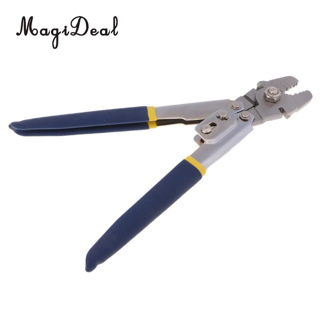 Fishing Crimping Pliers Wire Rope Swager Crimping Tool Spearfishing Crimper Gear