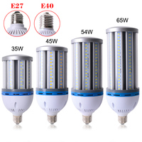 E27 LED Lamp E40 LED Bulb SMD5730 85 265V Corn Bulb 35W 45W 54W 65W Chandelier Candle LED Light for Home Room Decoration Ampoule