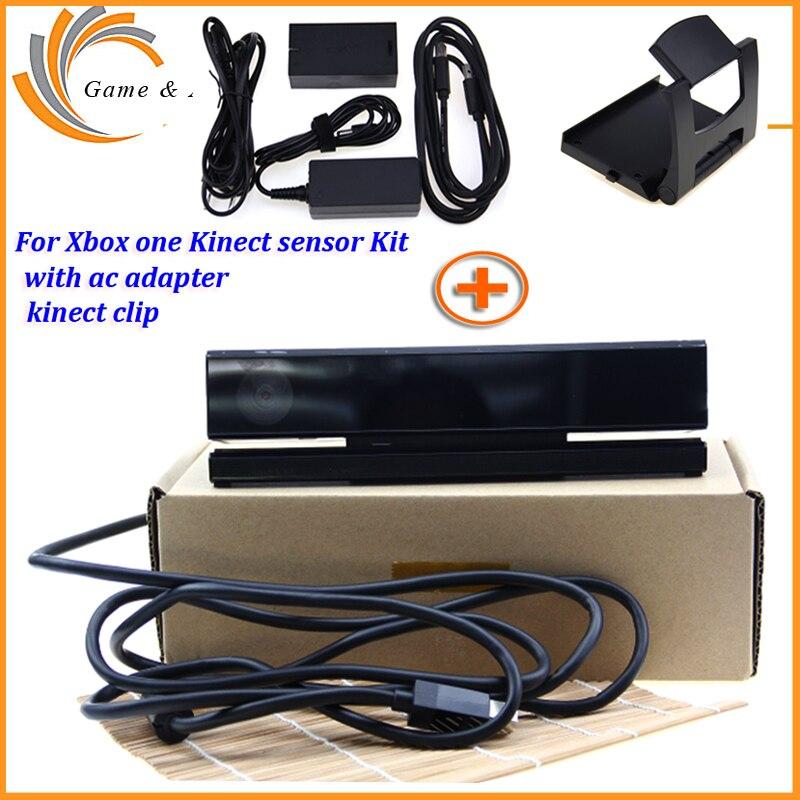 2019 для Kinect 2,0 Датчик + адаптер переменного тока блок питания для xbox one S/X/Windows PC для xbox ONE Slim/X Kinect адаптер + ТВ Клип Комплект