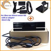 2019 para Kinect 2 0 Sensor + adaptador de CA  fuente de alimentación para Xbox one S/X/XBOXONE Slim Windows PC para/X Kinect Adaptor + Kit de Clip de TV