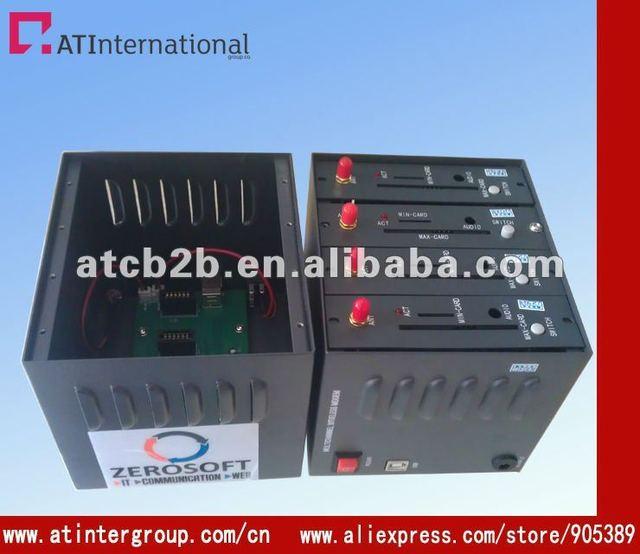 Wavecom USB interface 4 port gsm sms modem