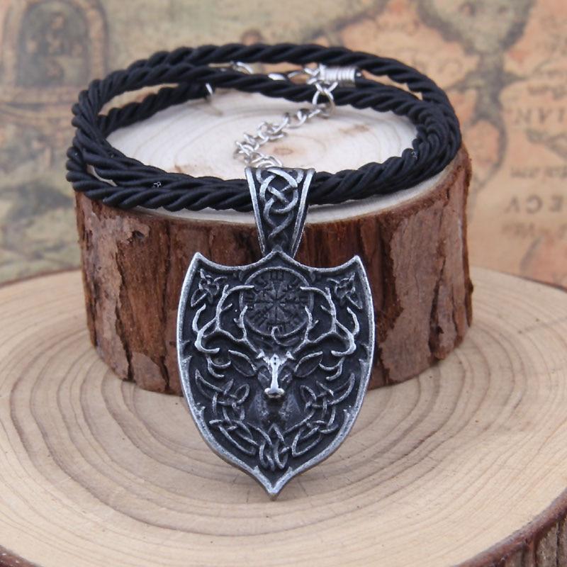 Yage 1pcs θρυλικό Viking Aegishjalmur κολιέ - Κοσμήματα μόδας - Φωτογραφία 4