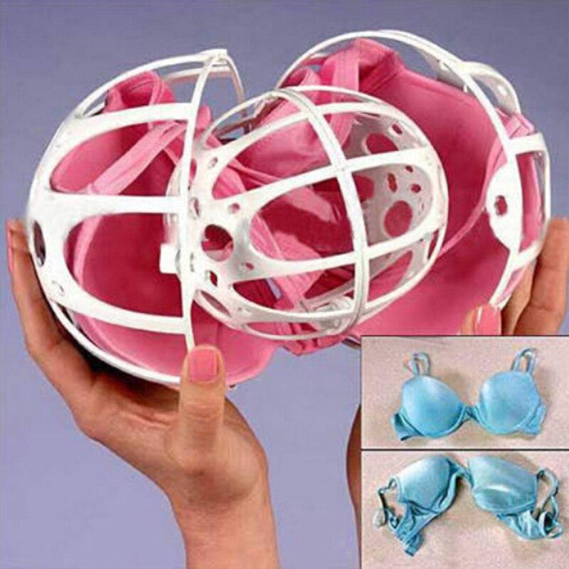 High Quality Bra Washing Bag Women Bra Laundry Double Spherical Washing Protect Underwear Organizer Washing Bag Useful