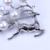 Moda veados Sika branco pérola de água doce presente de natal pin broche