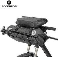 ROCKBROS Waterproof MTB Cycling Handlebar Bags Bicycle Front Tube Big Capacity 20 L Bag Front Frame
