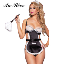 Erotic French Maid Sexy Lingerie With G-string