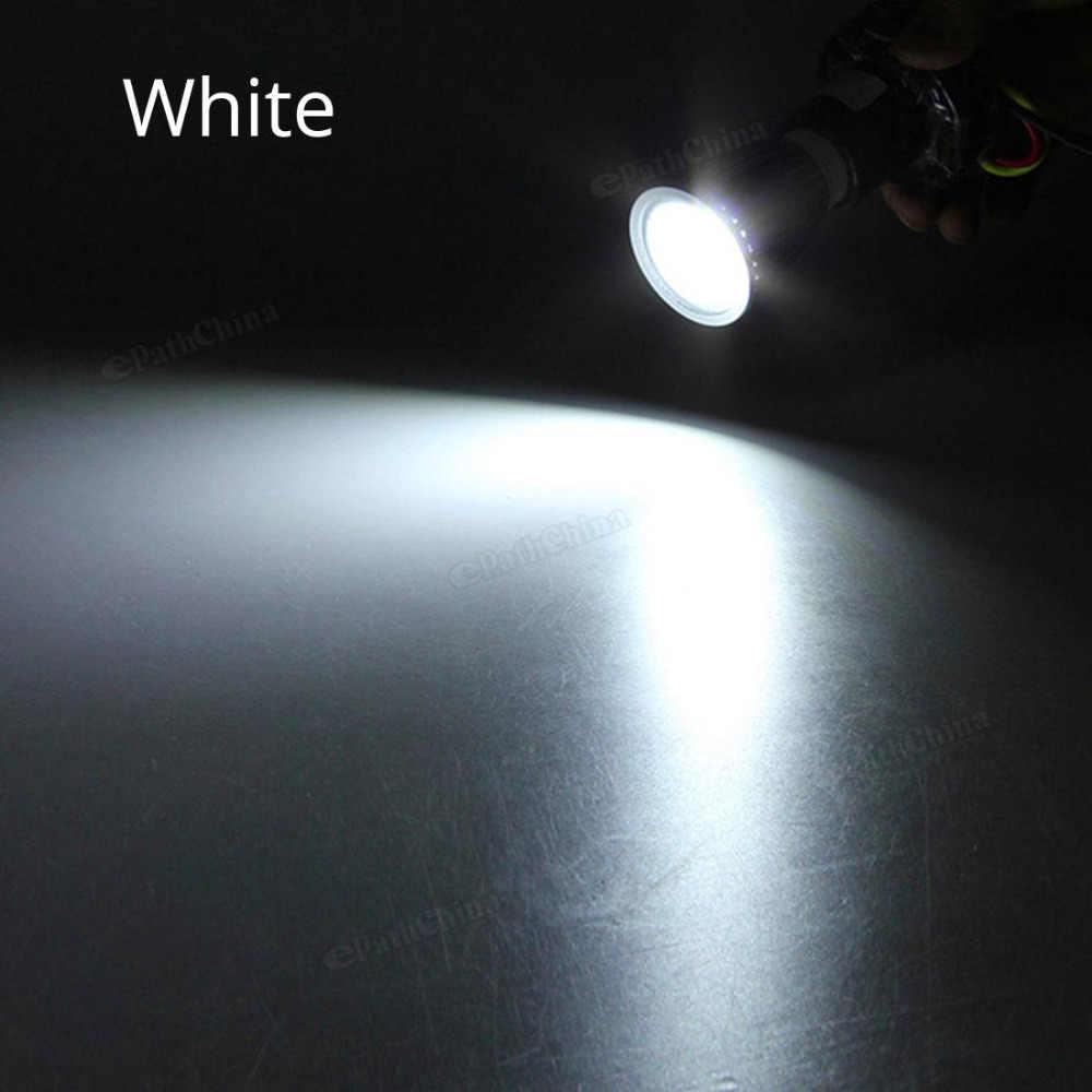С регулируемой яркостью GU10 9 Вт COB светодиодный лампочка направленного света 110 V/220 V энергосберегающий светодиодный прожектор лампы светильники теплый белый/белый свет