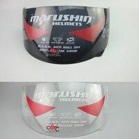 Free Shipping Lens Marushin Helmet 999 222 777 888 Shield Lens Helmet Glass