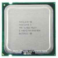 Processador intel pentium d945 pd945 pd 945 cpu (3.4 ghz/4 m/800 ghz) soquete 775|CPUs|Computador e Escritório -