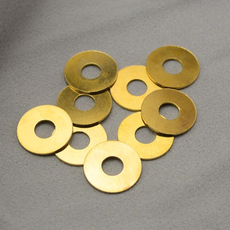 2PCS Butterfly 710 Gasket Brass Washer 730 Butterfly Gasket Washer Detent Ball Bearings
