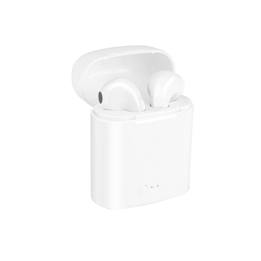 For Airpro Earpods TWS I7s In-Ear Wireless Earphone Bluetooth Headset Earbud with Mic for Apple IPhone Samsung Xiaomi Huawei