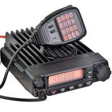 HYS TC-8600 Coche walkie-talkie 136-174 Mhz o 400-490 Mhz jamón de dos vías del vehículo montado de radio con Micrófono DTMF
