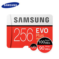 SAMSUNG Micro SD Card Memory Card 256GB EVO EVO Plus Class10 TF Card C10 100MB S