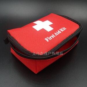 Image 4 - Gorący bubel apteczka Mini samochód apteczka na zewnątrz awaryjne Camping zestaw survivalowy torba medyczna domu