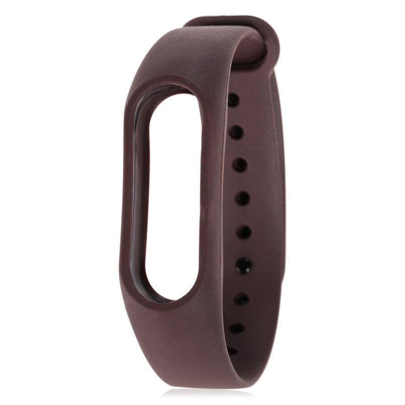 New Soft TPU Original Silicon Wrist Strap WristBand Bracelet Replacement For XIAOMI MI Band 2 Free Shipping H0T0
