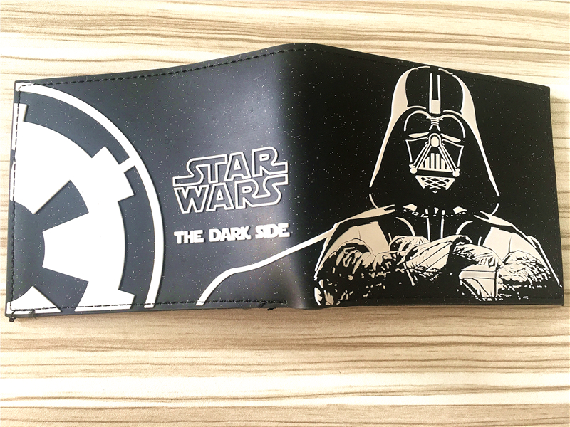 2018 New Arrival 2018 STAR WARS Wallets High Quality PU Leather Wallet Casual Short Purse Coin Pocket Anime Movie Wallet W320 цены