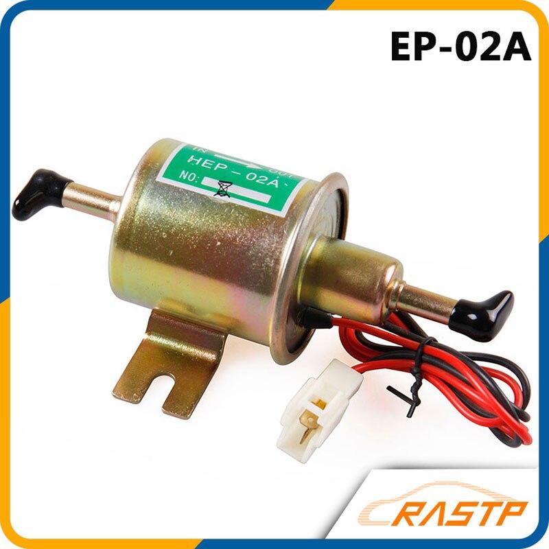 Free Shipping Universal Diesel Petrol Gasoline Electric <font><b>Fuel</b></font> <font><b>Pump</b></font> HEP-02A <font><b>Low</b></font> Pressure 12V LS-FP009
