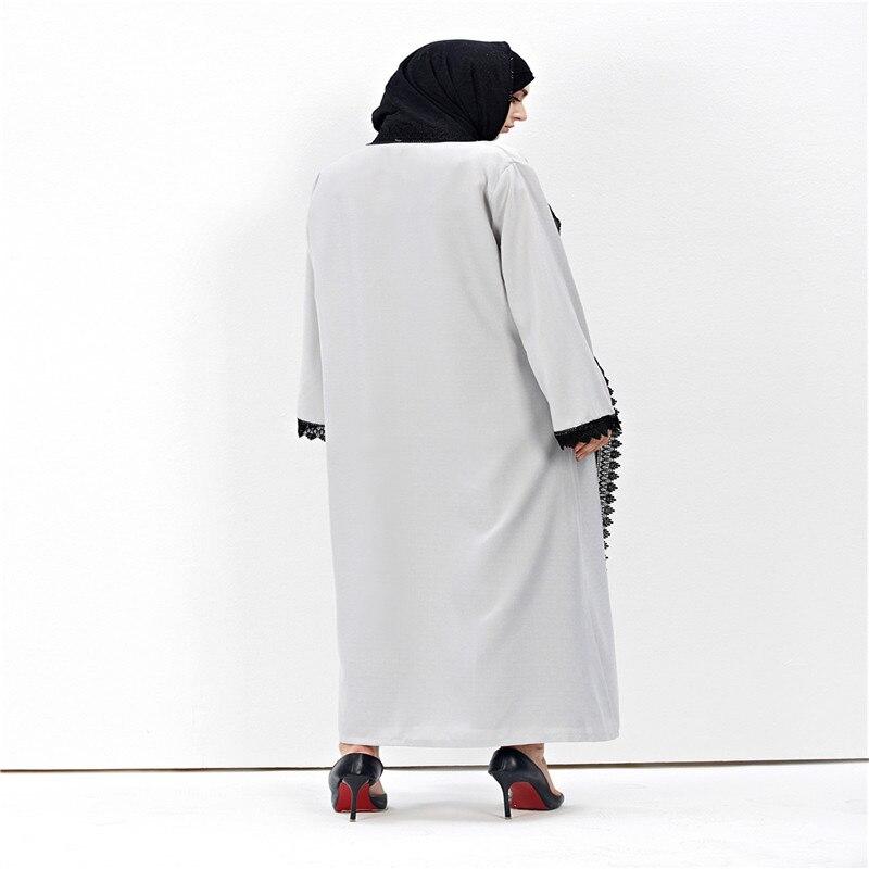Nouveau Femmes Musulmanes De Mode Vintage Jilbab Cardigan Robe Amira - Vêtements nationaux - Photo 3