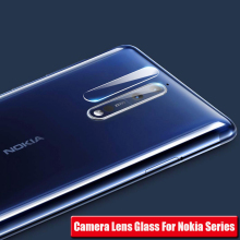 купить Clear Back Camera Lens Screen Protector For Nokia 7.1 6.1 5.1 3.1 Plus Tempered Glass For Nokia 8 sirocco 7 Plus Protective Film дешево