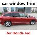 Хит продаж  автомобильный Стайлинг для Honda Jed из нержавеющей стали  накладка на окна  внешние аксессуары  Накладка на порог автомобиля без ко...