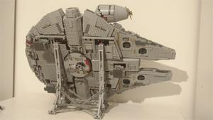 Image 3 - MOC Vertical Display Stand for Millennium toys Falcon Compatible No.05132 and No.75192 Ultimate Collectors Model