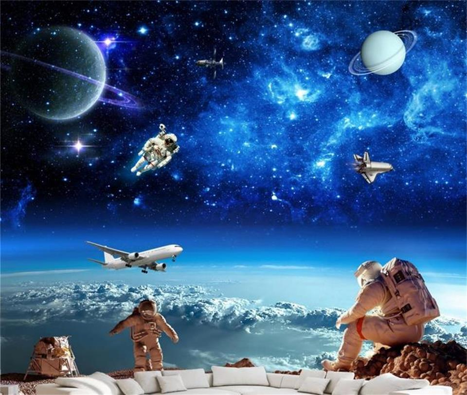 Galaxy Wall Mural compare prices on galaxy wall mural wallpaper- online shopping/buy