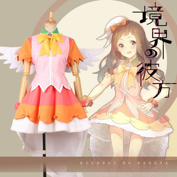 Beyond the Boundary Kyoukai no Kanata Ai Shindou Idol stage cos Dress  Cosplay Costume Halloween costume