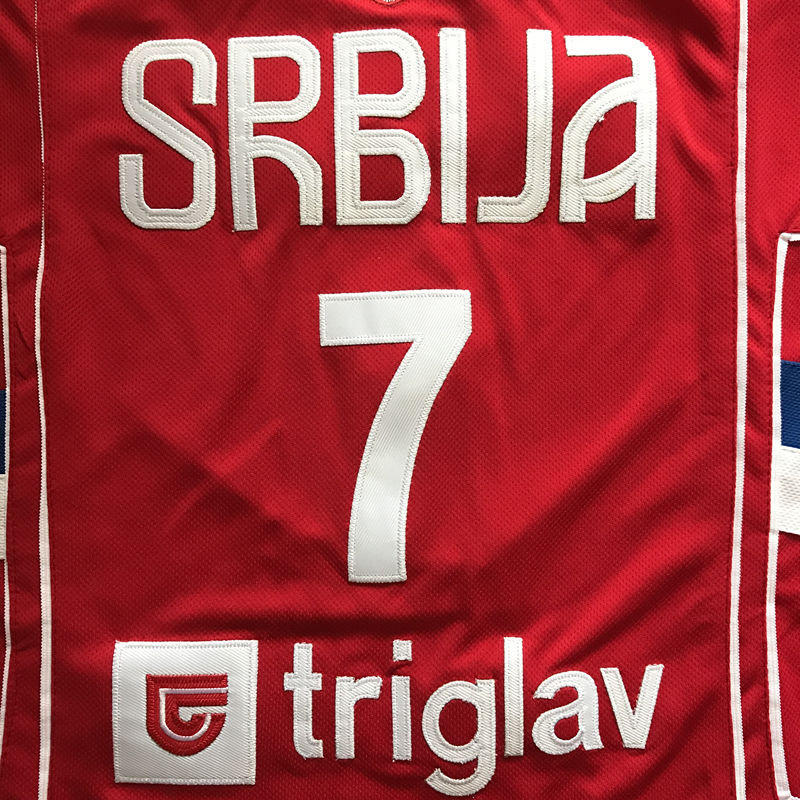 0a6272996af 2019 New  7 Bogdan Bogdanovic Team Serbia Basketball Jersey -in Basketball  Jerseys from Sports   Entertainment on Aliexpress.com