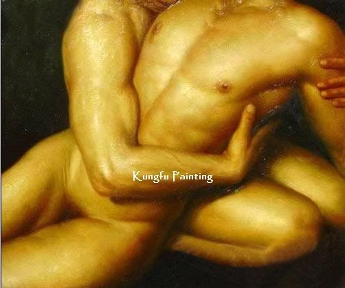 Hand Painted Canvas Discount Naked Painting Sex Art Wall Art Best Sexy Figures Home