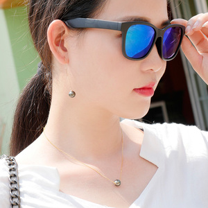 Image 4 - YS 18K Solid Gold Chain Genuine Saltwater Cultured Tahitian Pearl Pendant Necklace