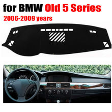 Car dashboard covers mat for BMW Old 5 Series 2006-2009 years Left hand drive dashmat pad dash cover auto dashboard accessories