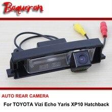 Для TOYOTA Vizi Echo Yaris XP10 хэтчбек Ночное Видение заднего вида Камера Реверсивный Камера автомобиль обратно Камера HD CCD Широкий формат
