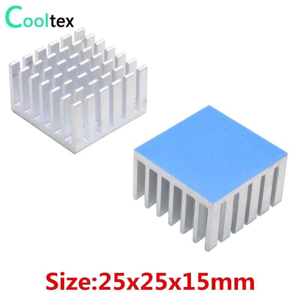 NEW 50x50x11mm Aluminum Heatsink Heat Sink Radiator for electronic chip