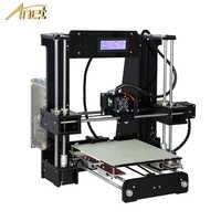 3D принтер Anet A8 Plus A6 Auto A6, экструдер высокой точности Reprap Prusa i3, без сборки, Impresora 3d с PLA филаментом