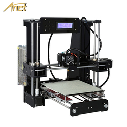 Anet A8 A6 автоматический уровень A8 A6 3d Принтер Высокоточный экструдер Prusa i3 3d принтер комплект DIY Impresora 3d с PLA нитью