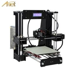 Anet A8 A6 автоматический уровень A8 A6 3d Принтер Высокоточный экструдер Reprap Prusa i3 3d принтер комплект DIY Impresora 3d с PLA нитью