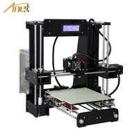 Anet A8 A6 niveau automatique A8 A6 imprimante 3d extrudeuse de haute précision Reprap Prusa i3 3D imprimante Kit bricolage Impresora 3d avec Filament PLA
