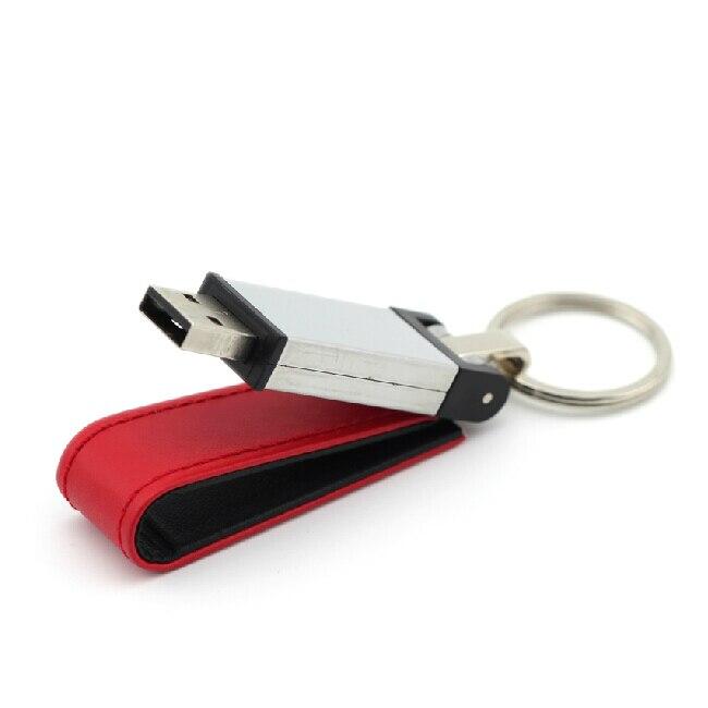 Best Seller Classic Leather Metal Usb Flash Drive Memory Stick 8GB 16GB 32GB 64GB 128GB 512GB Pendrive Pen Drive 256GB Gift