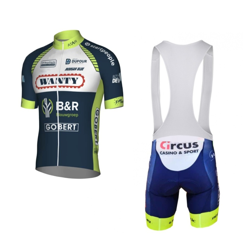 2018 new Pro team wanty cycling jerseys sets summer Bicycle maillot breathable MTB bike clothing Ropa Ciclismo gel pad new team teleyi cycling jerseys 2017 short sleeves summer breathable cycling clothing pro mtb bike jerseys ropa ciclismo