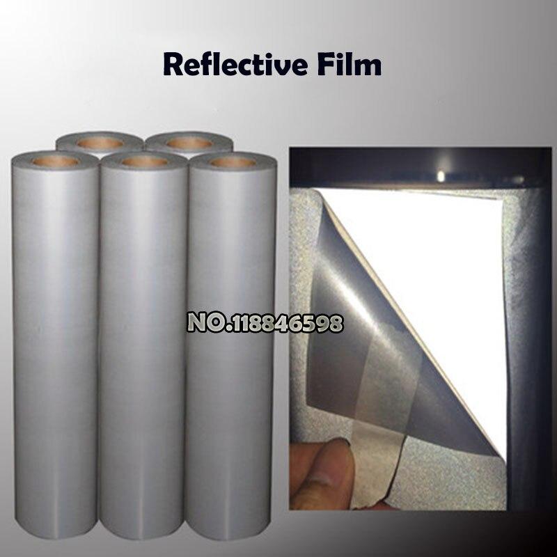 One Meter South Korea Reflective PU Vinyl for Heat Transfer Vinyl,T-shirt Heat Press Film PET PU PVC Material
